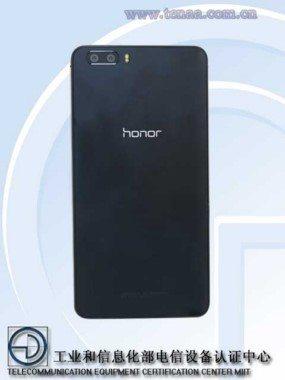 новый смартфон Huawei Glory 6 Plus - первое фото