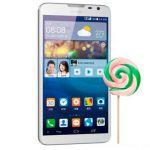 Huawei Ascend Mate 2 пропускает KitKat, но получает Lollipop