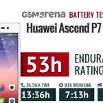 Тест аккумулятора флагмана Huawei Ascend P7