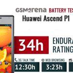 Тест аккумулятора смартфона Huawei Ascend P1
