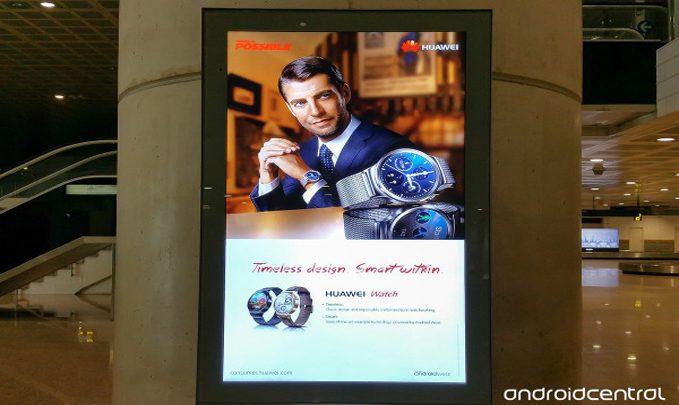 реклама умных часов хуавей