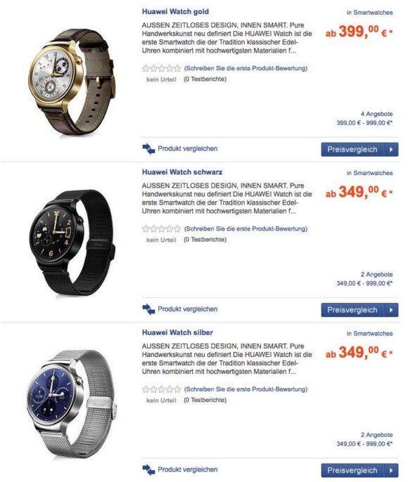 цена часов хуавей