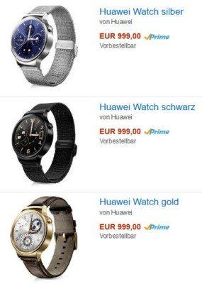 цена предзаказа хуавей часов