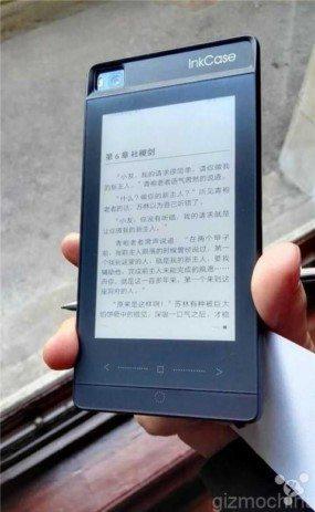 e-ink чехол для huawei p8