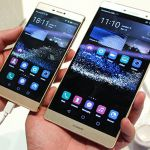 Сравнение Huawei P8 и Huawei P8 MAX на живых фото