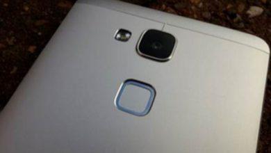 хуавей смартфоны со сканером отпечатков