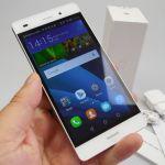 Huawei P8 Lite на фото и видео распаковке