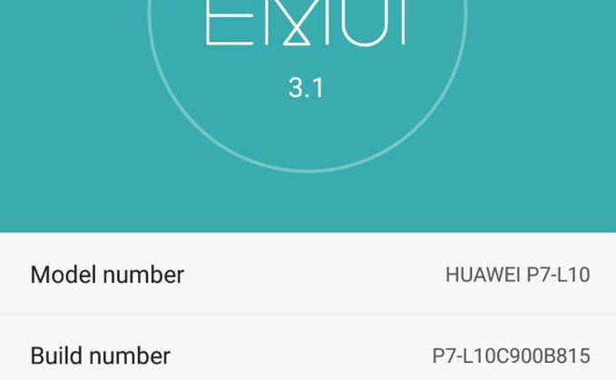 huawei p7 b815