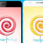 Выпущено обновление Android 5.1.1 Lollipop для Honor 6 и Honor 6 Plus