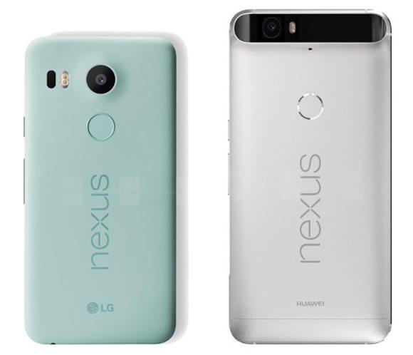 сравнение nexus 6p и nexus 5x