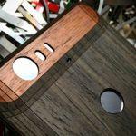 Панель из дерева для Huawei Nexus 6P — необычный чехол