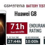 Huawei G8: тест аккумулятора