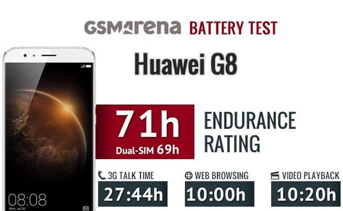 huawei g8 тест аккумулятора