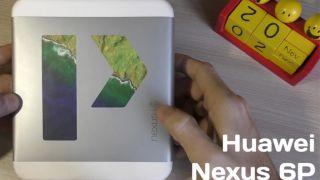 распаковка huawei nexus 6p