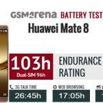 Тест аккумулятора флагманского Huawei Mate 8