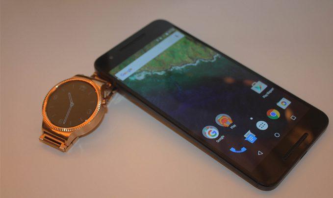 nexus 6p и huawei watch