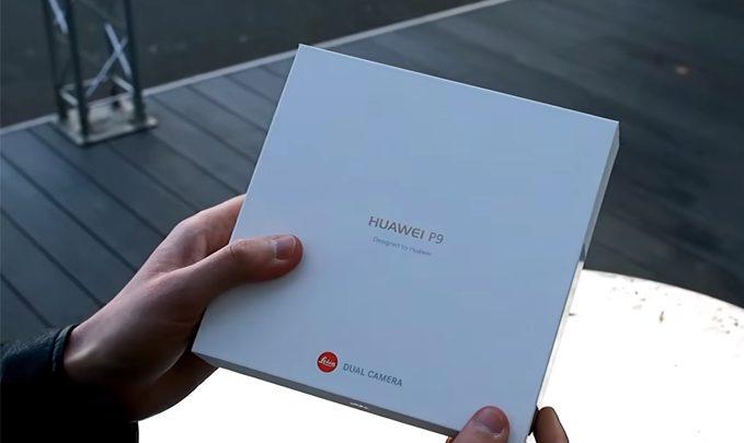 huawei p9 распаковка