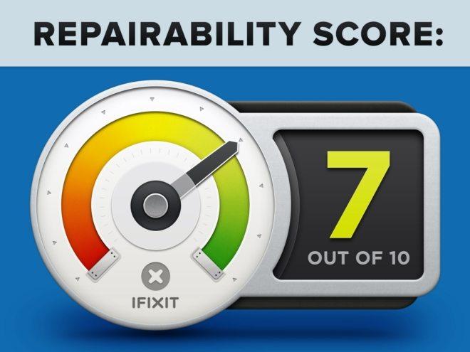 huawei p9 оценка ремонтопригодности