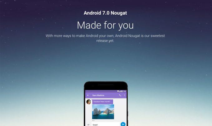 huawei nexus 6p android 7