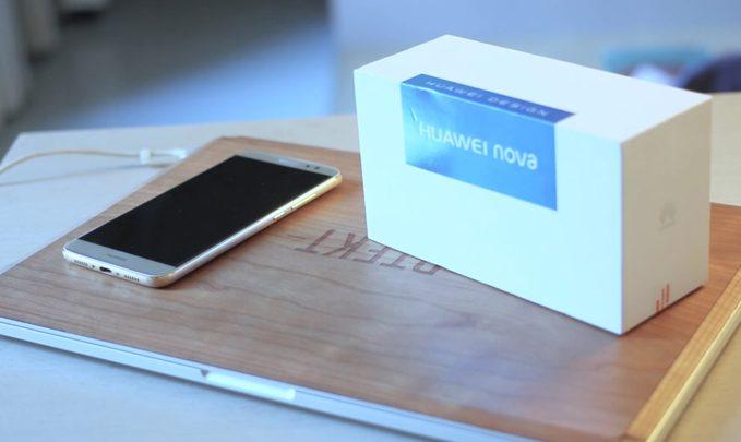 huawei nova распаковка на видео