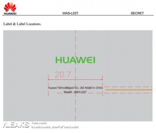 huawei was-l03t fcc