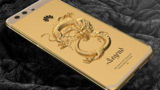 huawei p10 из золота