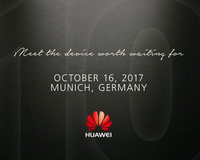 huawei mate 10 дата анонса