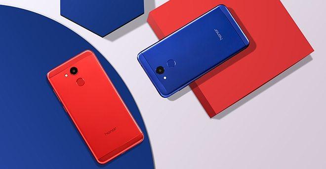 honor v9 play красный и синий