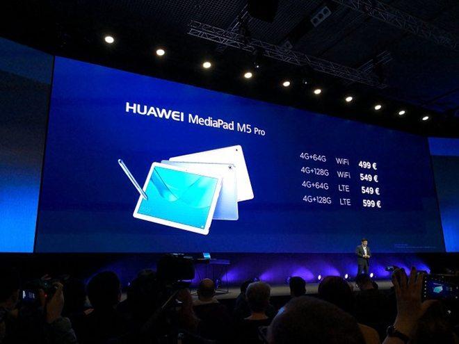 huawei mediapad m5 pro цена