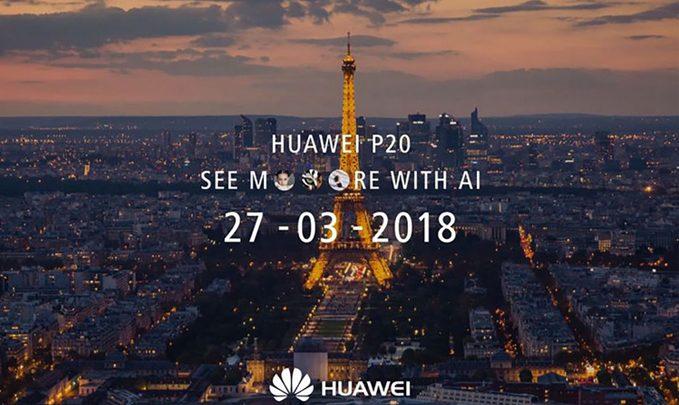 huawei p20 дата анонса
