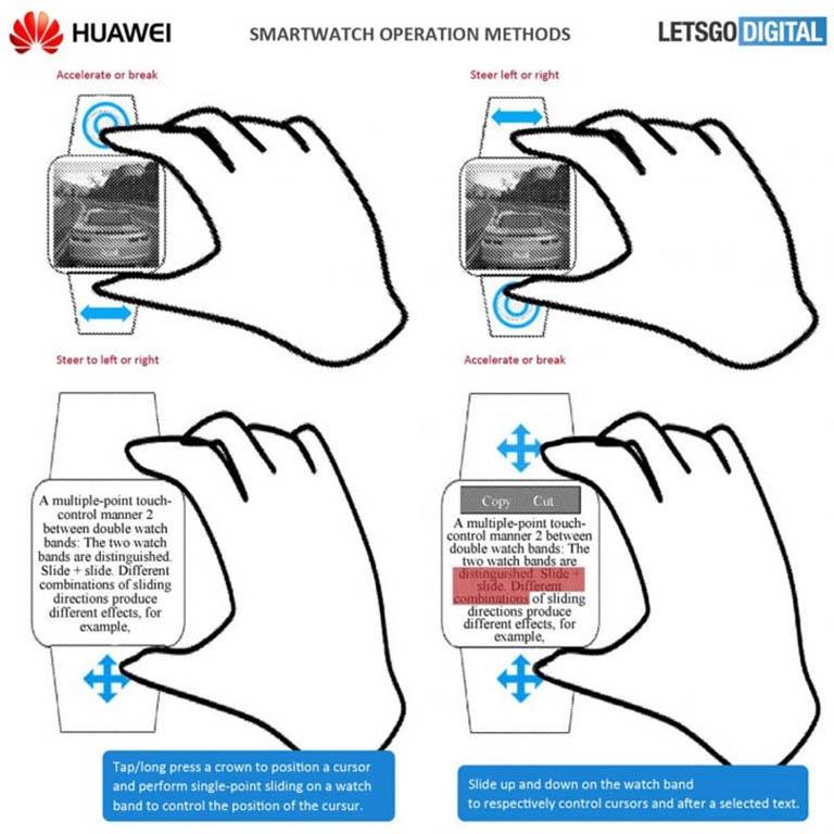 huawei игровые часы патент