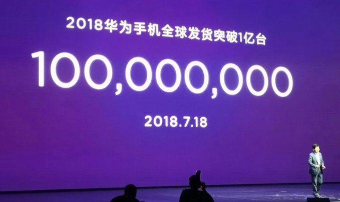 huawei 100 миллионов 2018