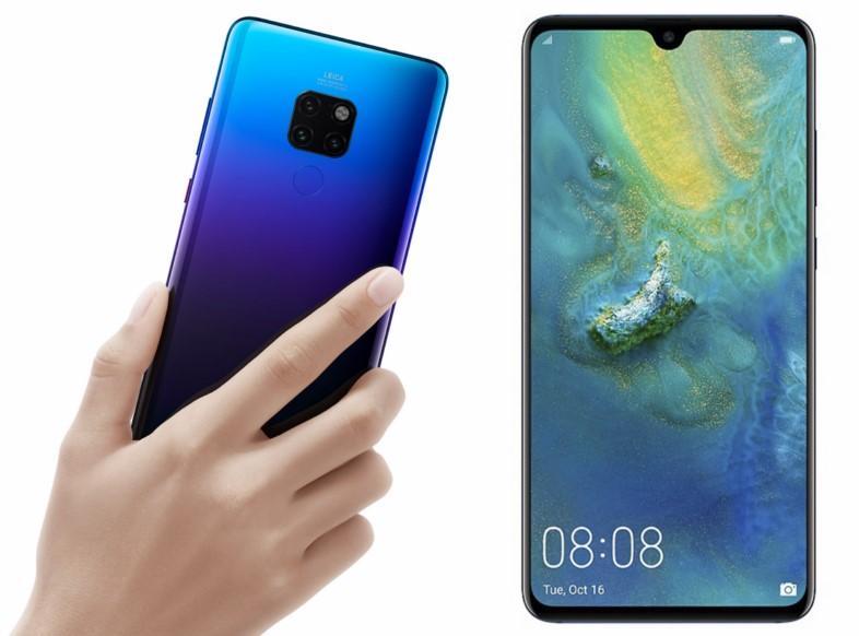 представлены Huawei Mate 20 и Mate 20 Pro