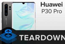 huawei p30 pro разборка ifixit