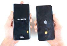 huawei p30 pro против iphone xs max