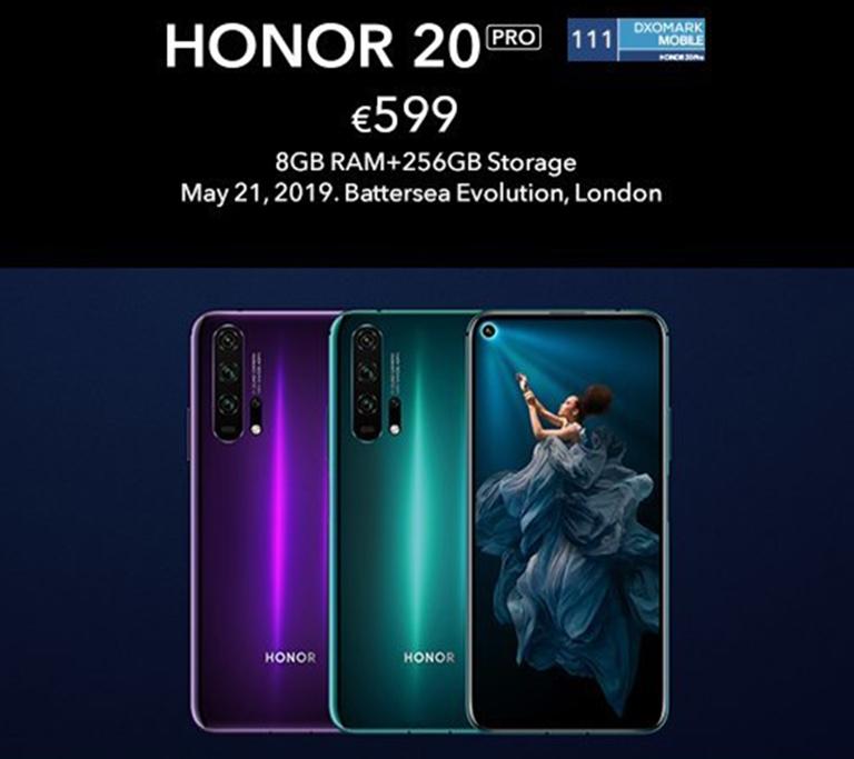 honor 20 цена