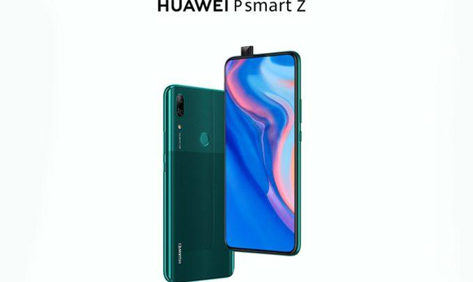 huawei p smart z анонс